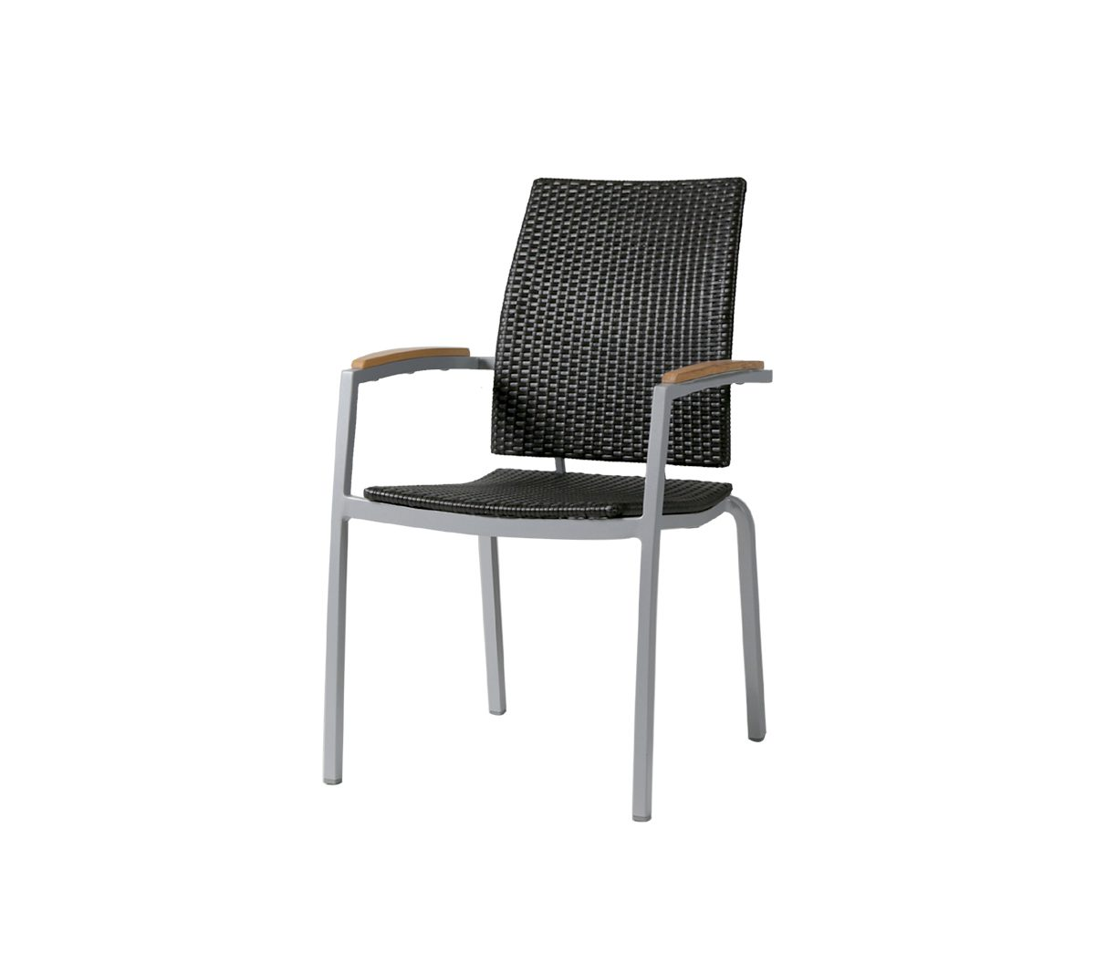 FN56512LAB Zuni Woven Dining Arm Chair